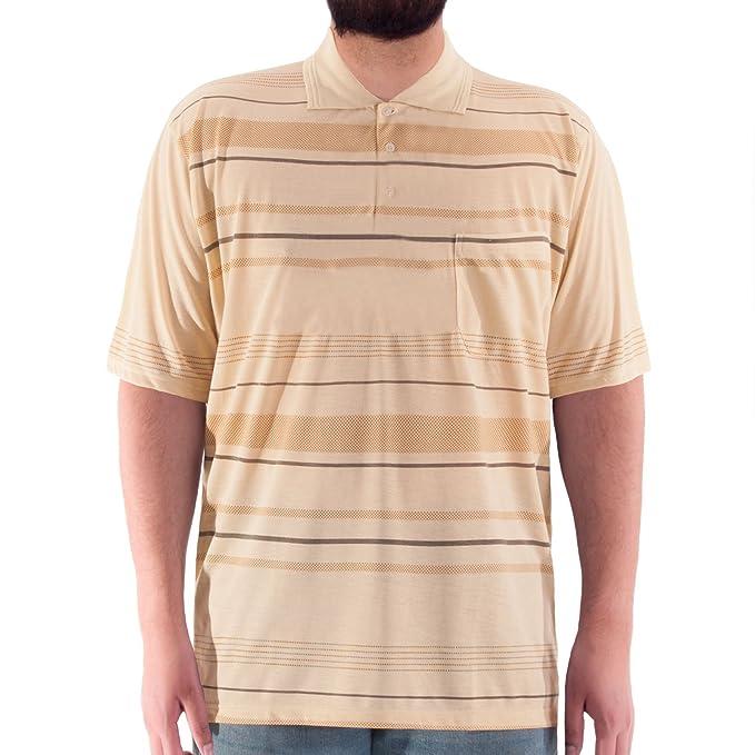 Romesa éclair avec 1/2 bras-polo de golf-avec imprimé sur la poitrine et fermeture éclair-grande taille - Blanc - Xxxxx-large XOeAhcs
