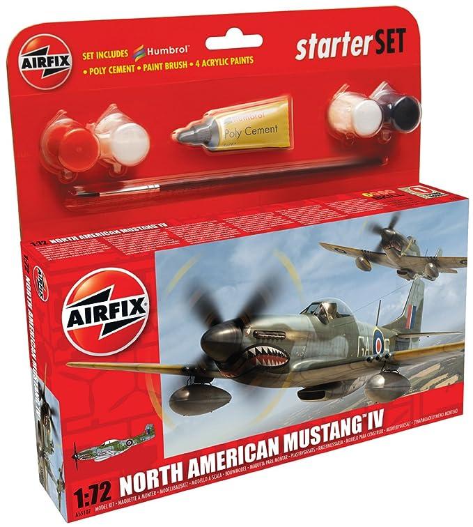 Airfix - AI55107 - Maquette - P-51D Mustang