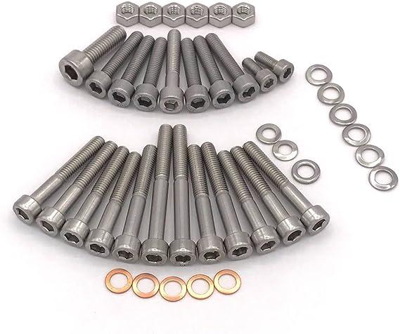 Simson S50 Motor M53 2 Zylinderschrauben Mit Innensechskant Edelstahl 42 Teilig Auto