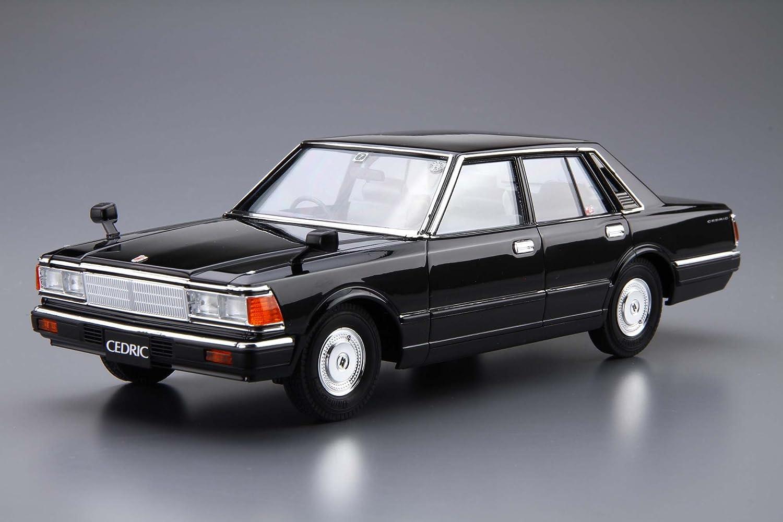 Amazon.com: Aoshima 1/24 Model Car No.9 Nissan 430 Cedric Sedan 200E GL81 Model Kit(Japan Import): Toys & Games