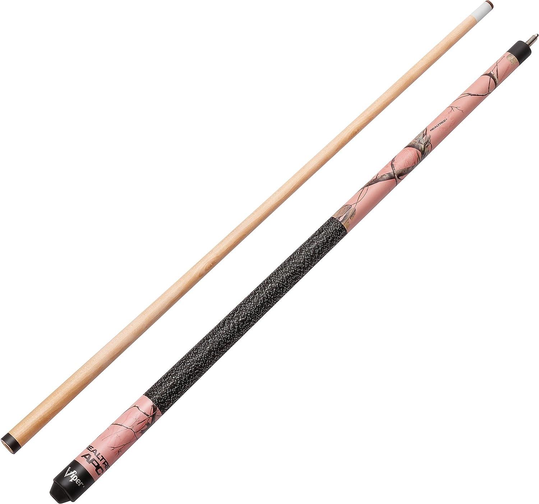 Realtree APC Pink Camo GLD Products 50-9006 Viper Signature 57 2-Piece Billiard//Pool Cue