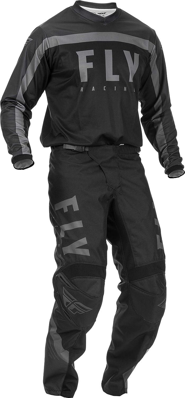 2020 Fly F-16 Youth MX Gear Combo Black//Grey