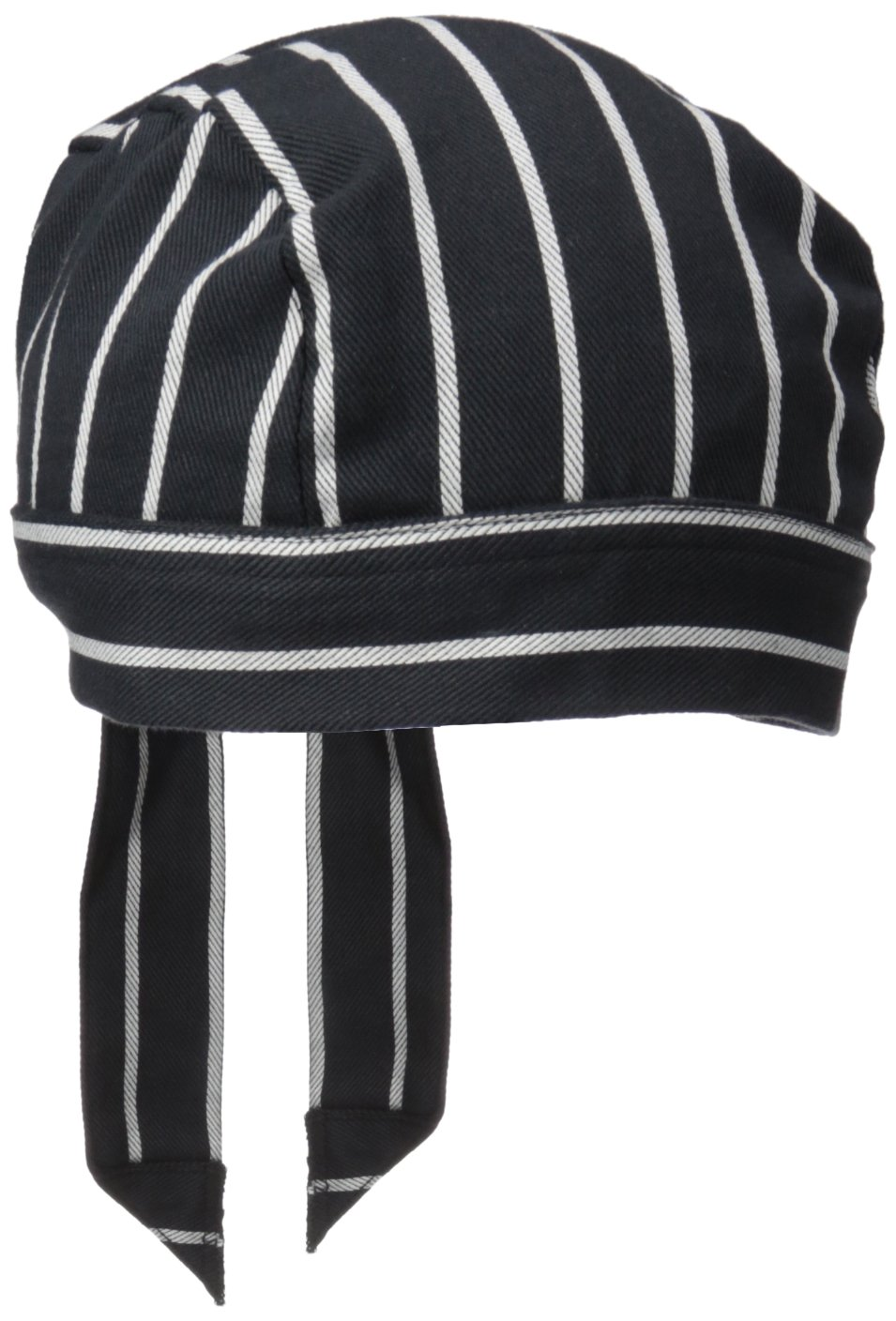 Uncommon Threads Unisex  Scull Cap, Chalk Stripe, One Size