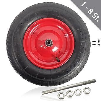 1 – 8 pieza HSM carretilla Cilindro de rueda para carretilla con manguera 4.80 4.00 –