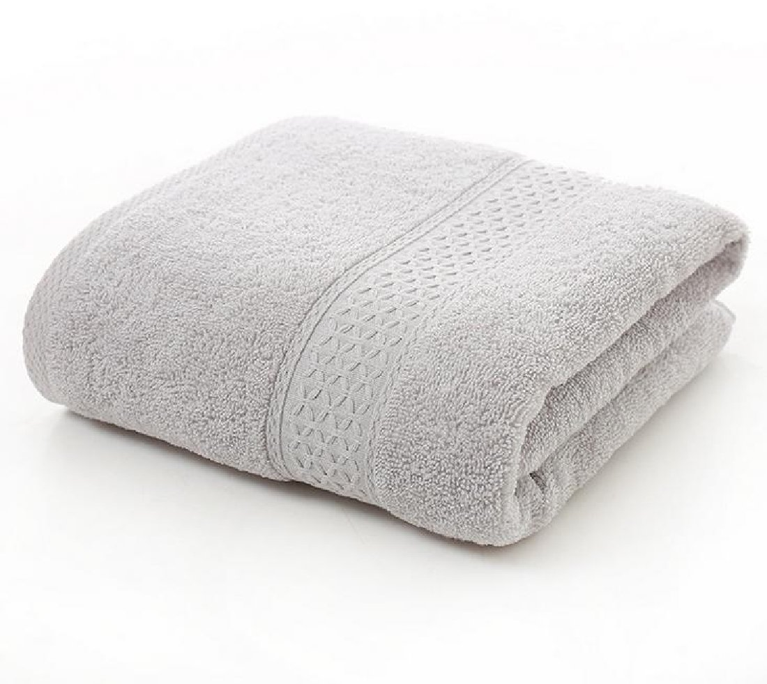 Vska Towels Multipurpose Extra Large for Hotel and Spa Everyday Softness Bath Towel Set Light Grey 70140