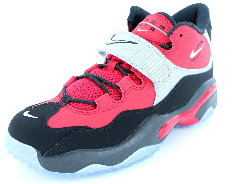 Nike Air Zoom Turf (GS) Boys Cross Training shoes 643230-600 Fire Red 7 M US