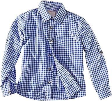 FairOnly Camisa Informal de algodón a Cuadros, para Festivales de Cerveza, para niños: Amazon.es: Ropa y accesorios