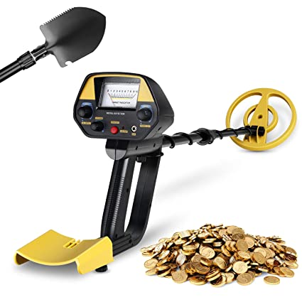INTEY Metal Detector for Adults with Pinpoint Function Updated Version Treasure Hunter Adjustable(30In-