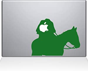 "The Decal Guru Headless Horseman MacBook Decal Vinyl Sticker - 15"" MacBook Pro (2015 & Older) - Green (1080-MAC-15P-LG)"