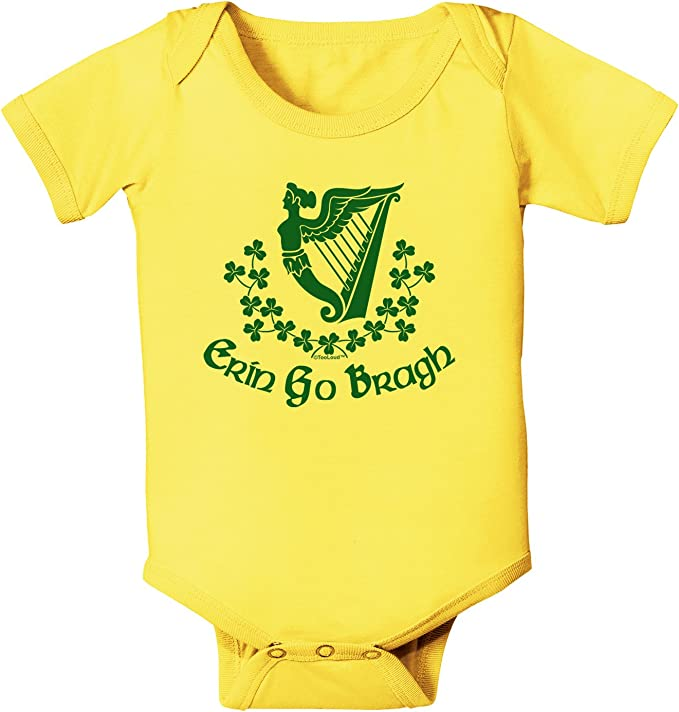 Ireland Forever Flag Long Sleeve Bodysuits Rompers Outfits
