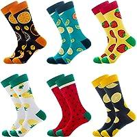 LZYMSZ 6 Pares de Calcetines Hombre Invierno, Elegantes Calcetines Termicos Mujer Invierno, Calcetines Mujer Colores de…