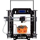 "[New Arrival] HICTOP Filament Monitor Desktop 3D Printer Kits Reprap Prusa I3 MK8 DIY Self-assembly Printing size 10.6"" x 8.3"" x 7.0"""