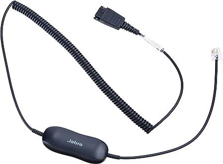 Jabra Gn1216 Qd Auf Rj9 Anschlusskabel Für Avaya One X Elektronik