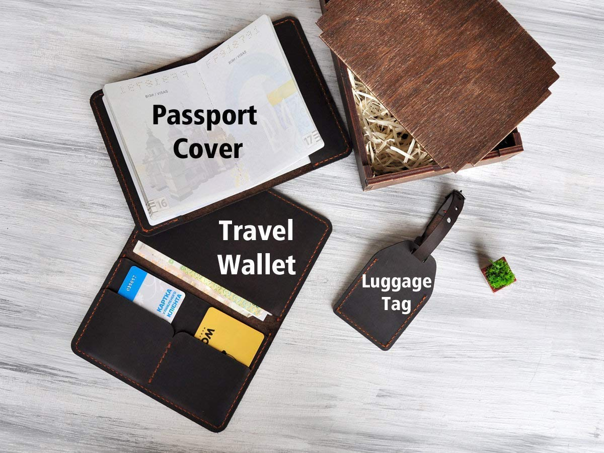 d8738bff38cb Honeymoon Travel Accessories Mr and Mrs Wedding Gift for Couple ...