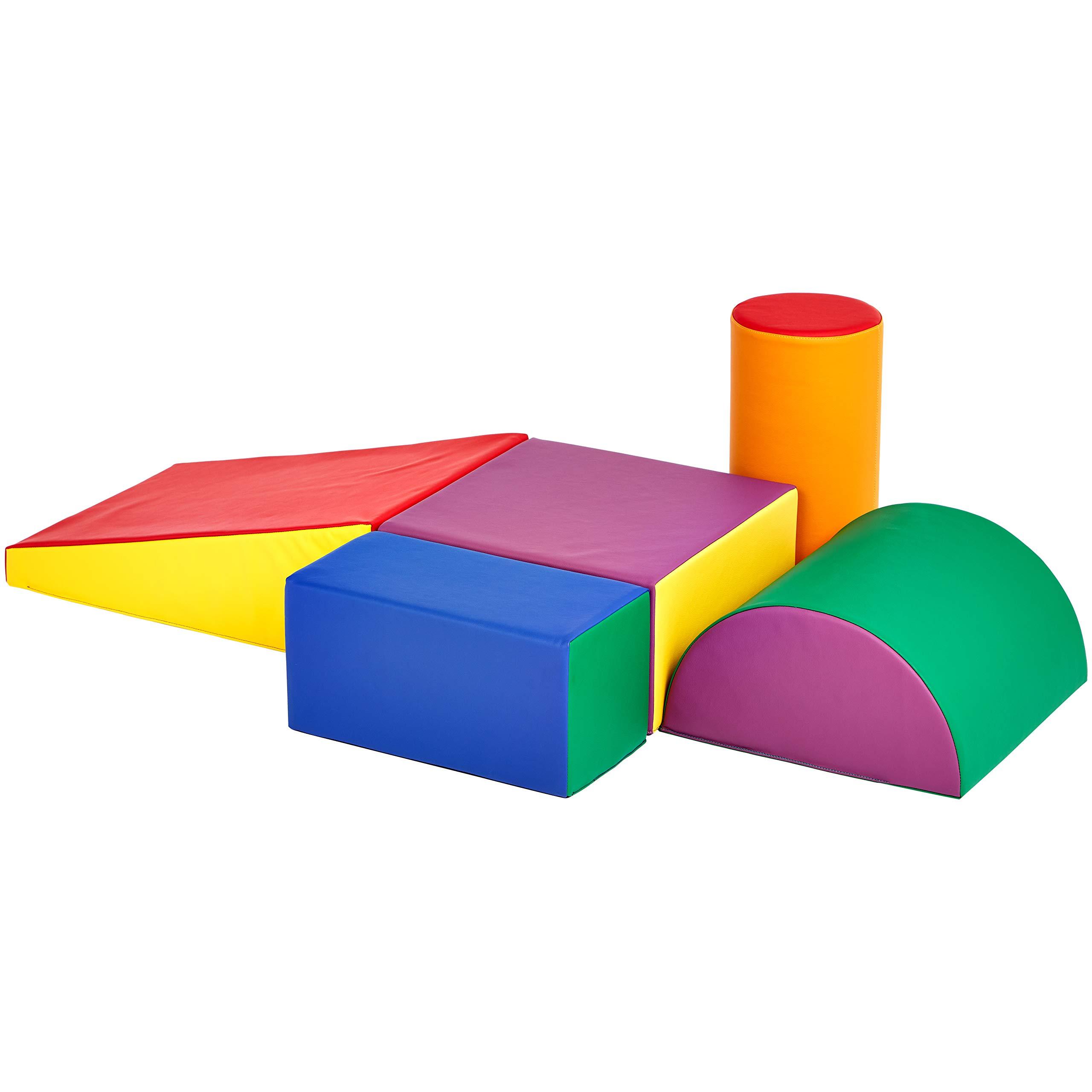 AmazonBasics Soft Play Climb and Crawl Play Set, 5-Piece by AmazonBasics