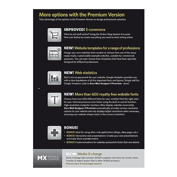 Amazon.com: Xara Web Designer 9 Premium [Download]: Software