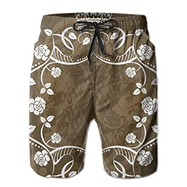 Rigg-pants Mens Comfortable Hawaii Seaside Tour Cool Beach Shorts Swim Trunks Board Shorts