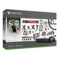 Deals on Microsoft Xbox One X 1TB NBA 2K19 Bundle