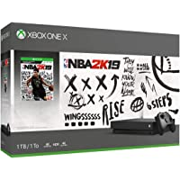 Microsoft Xbox One X 1TB Console with NBA 2K19 + Thrustmaster Headset