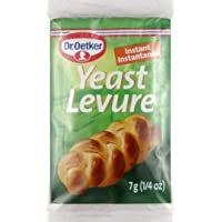 Dr. Oetker Yeast Levure Instant, 0.25-Ounce (Pack of 3)