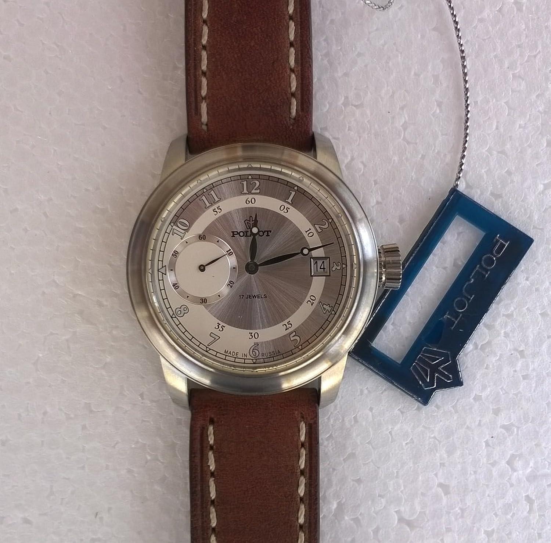 Poljot   -Armbanduhr     Leder 3105-2711337
