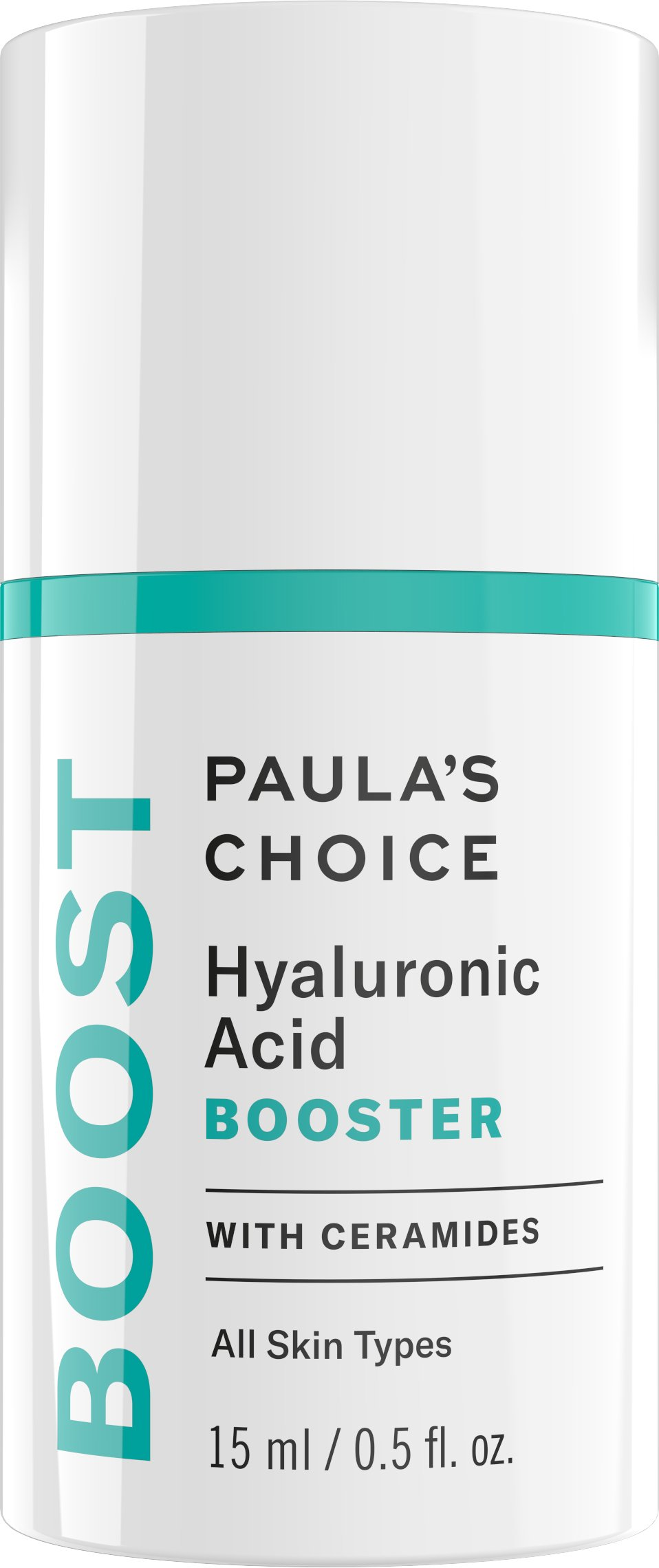 Paula's Choice BOOST Hyaluronic Acid Booster-with Ceramides, 0.67 Ounce Bottle For the Face and Neck, Plumps Fine Lines and Wrinkles