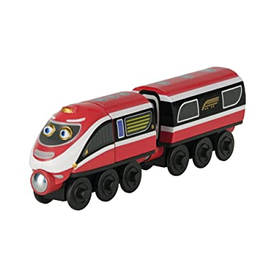Chuggington Wooden Railway Daley And Delivery Wagon: Toys & Games