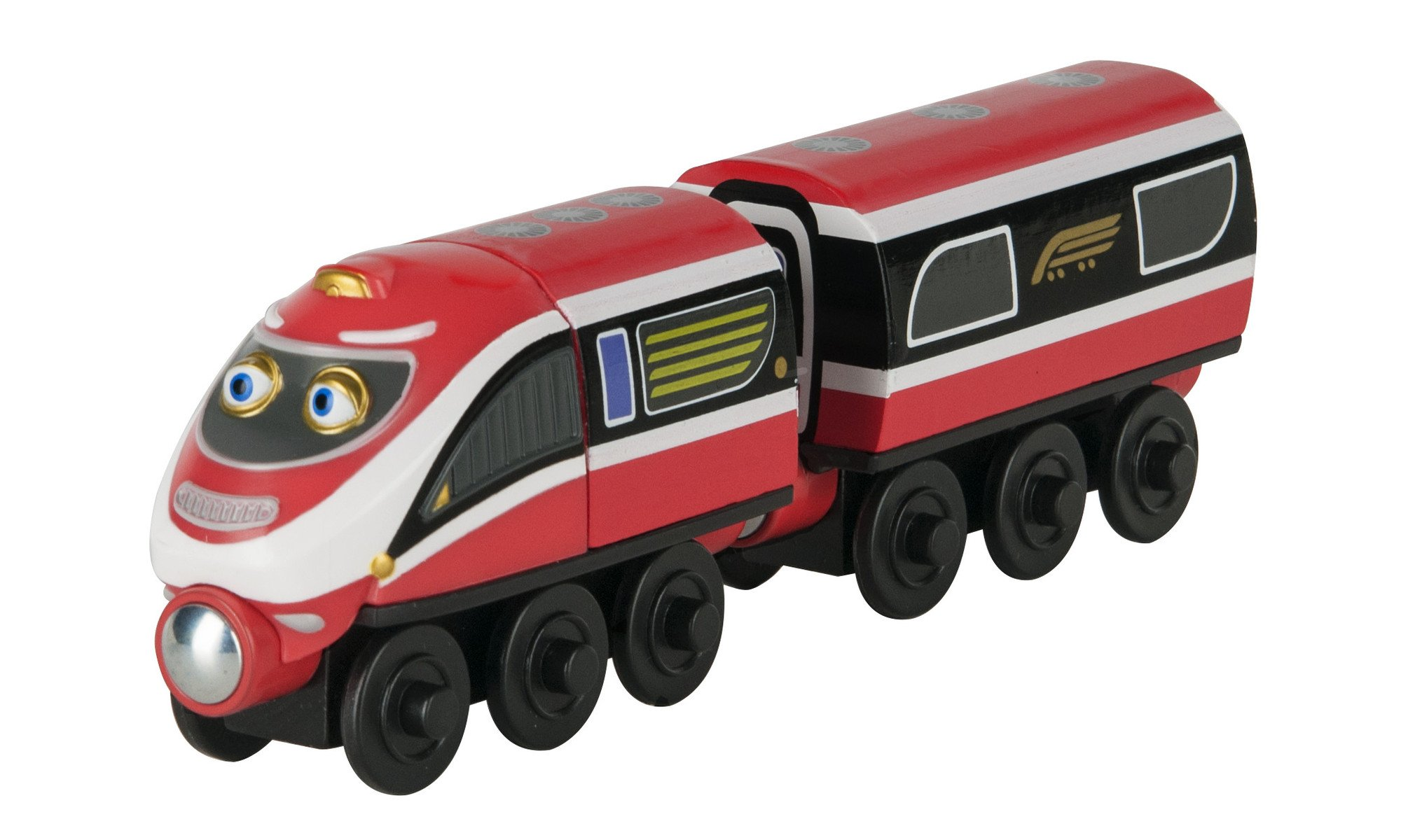 TOMY Chuggington Wooden Railway Daley And Delivery Wagon