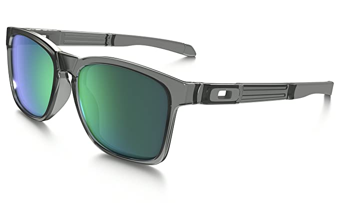 f8fa1b3e44 Image Unavailable. Image not available for. Colour  Oakley Iridium  Rectangular Men s Sunglasses ...
