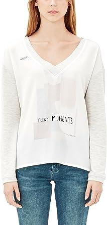 TALLA 44. ser Camiseta de Manga Larga para Mujer