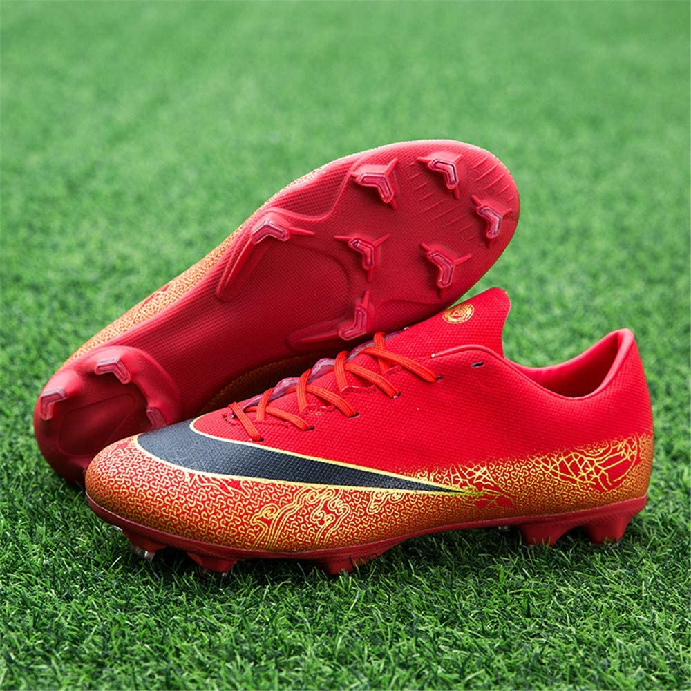 FCSHOES Indoor Football Shoes Kids Futsal Shoes for Sock Football Boots Boys Soccer Cleats Sneakers