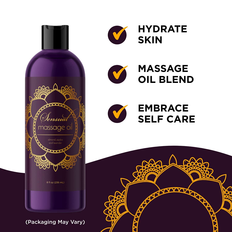 Neben Massage Öl zum Auftragen wird es als natürliches therapeutisches Gleitmittel für Muskeln verwendet