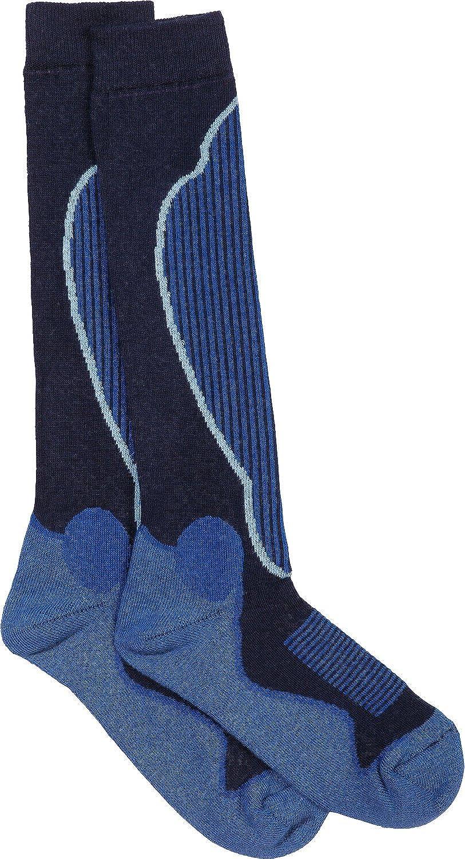 Ewers Ski-Socken Thermo königsblau Größe 19 / 22