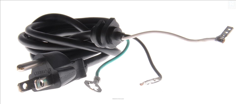 KitchenAid W10164883 Power Cord, Black by Kitchen Aid