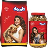 Drools Chicken and Egg Puppy Dog Food, 3 kg with FREE 900 gm Biscuits