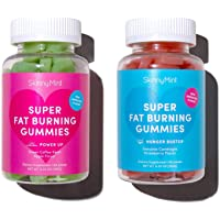 SkinnyMint Super Fat Burning Gummies (120 Gummies). Curbs Cravings. Contains Garcinia Cambogia Extract & Green Coffee Beans