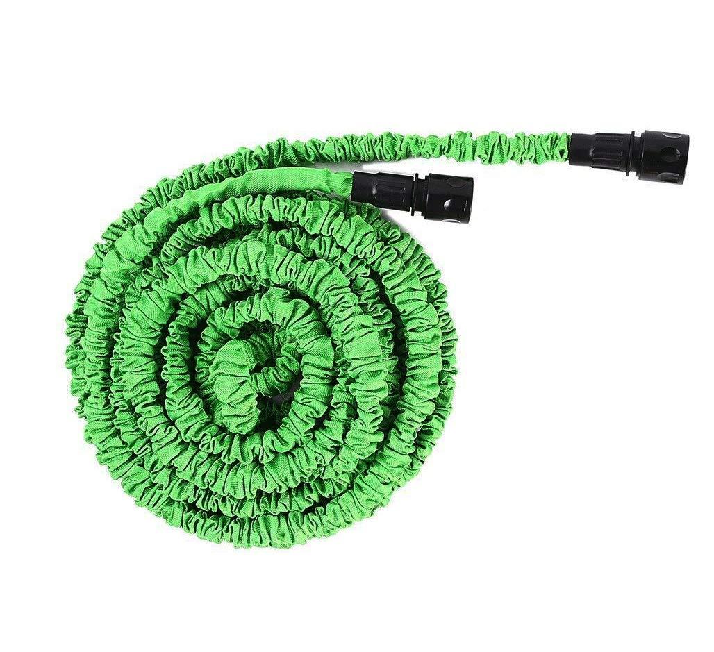 SJIASG Tubo da Giardino per Evitare la Perdita del Tubo Flessibile, Tubo Flessibile per Irrigazione Espandibile e Scalabile, verde Multi-Formato (Dimensioni   15m)