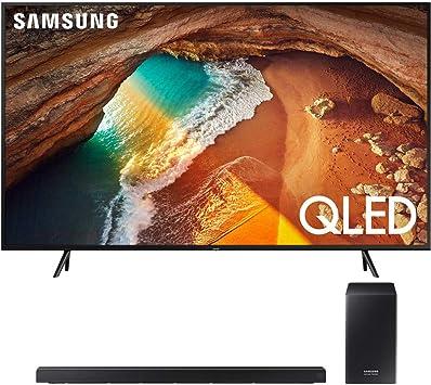 Samsung Q60 QLED Smart 4K UHD TV (Modelo 2019) con Barra de Sonido Samsung HWQ60R con subwoofer inalámbrico: Amazon.es: Electrónica
