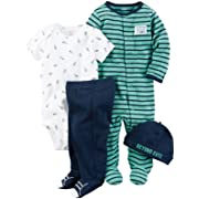 Carter's Baby Boys' Multi-Pc Sets 126g584, Navy, 3 Months