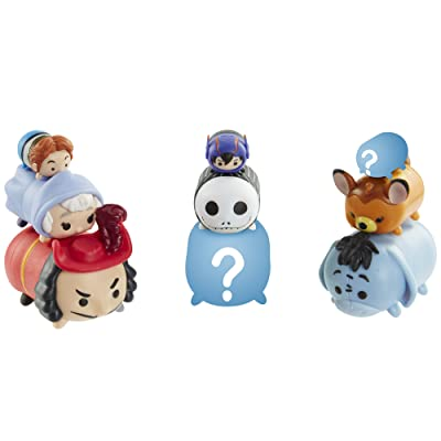 Disney Tsum Tsum 9 PacK Figures Series 4 Style #1: Toys & Games