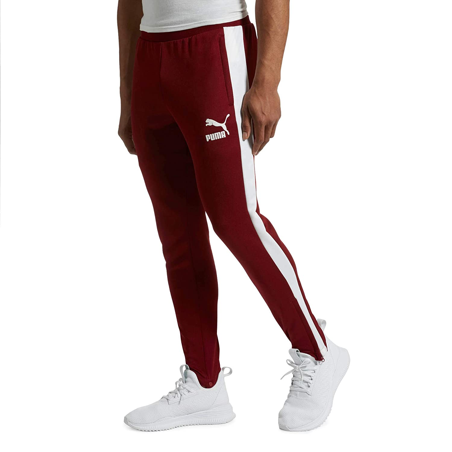 019bd4d6edcb Puma T7 Vintage Track Pants at Amazon Men s Clothing store