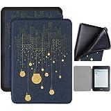 Capa Kindle 10ª geração com iluminação embutida – Auto Hibernação – Fecho Magnético – Silicone - Lâmpadas