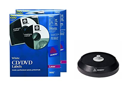 amazon com avery white cd labels for laser printers 80 disc