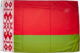 product image for Annin Flagmakers Model 190627 Belarus Flag Nylon SolarGuard NYL-Glo, 4x6 ft, 100% Made in USA to Official United Nations Design Specifications
