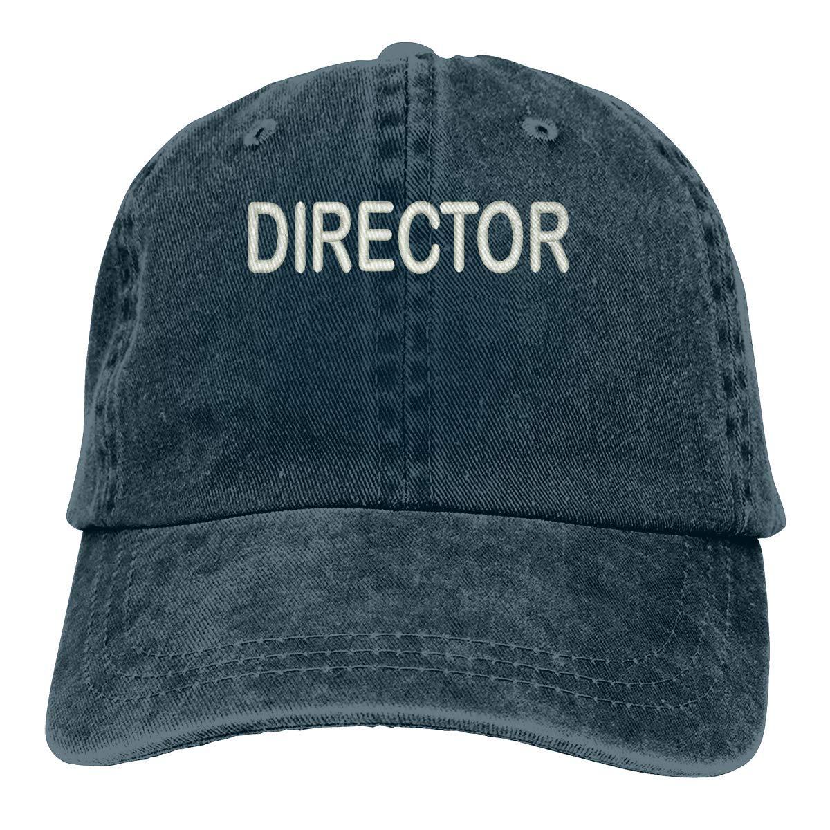 Director Black wwoman Unisex Adults Vintage Washed Baseball Cap Adjustable Dad Hat