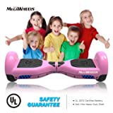 MEGAWHEELS Hoverboard - UL Certified Self Balancing Hover Board with Bluetooth Speaker & LED Light