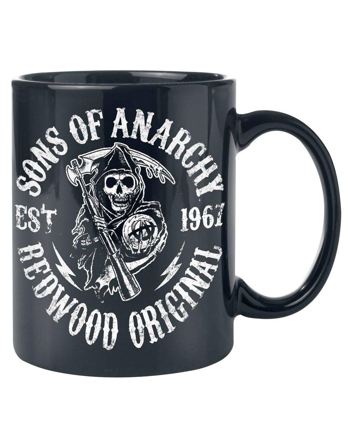 Unisex-Adultos - Official - Sons Of Anarchy - Jarra: Amazon ...