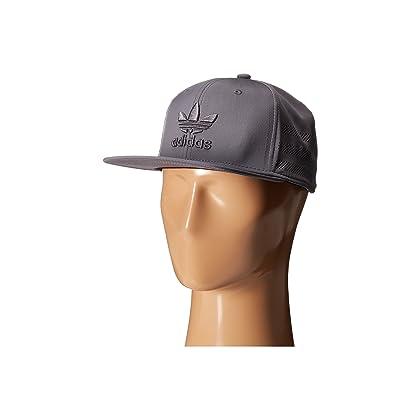 adidas Men s Originals Beacon II Snapback Grey Black Hat ... 52cf4352f8b