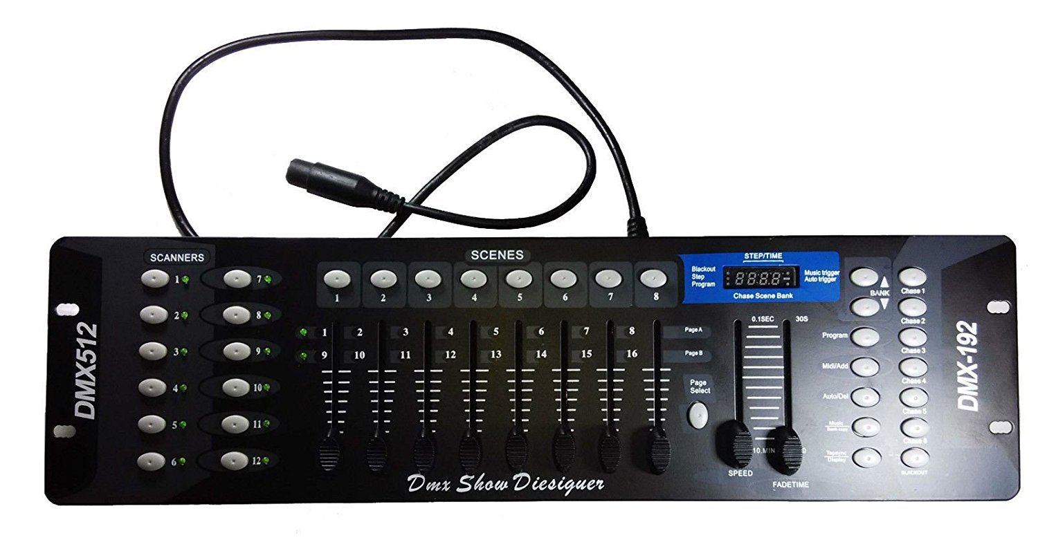 DMX 512 Metal Controller for Professional Show Lighting Control Set
