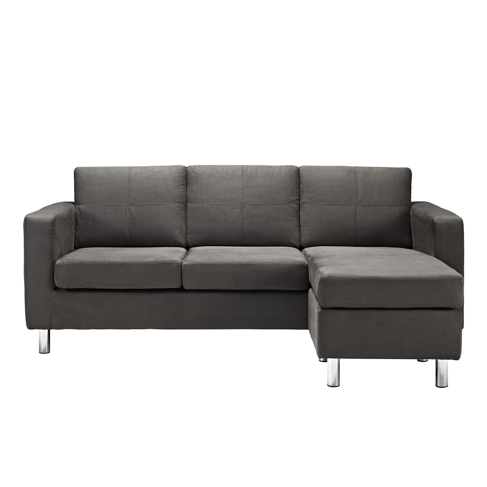 Dorel Living Small Spaces Configurable Sectional Sofa: Small Sectional Sofa With Chaise: Amazon.com